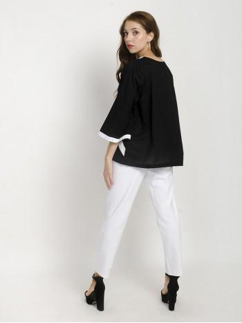 Wrap White Lining Trouser