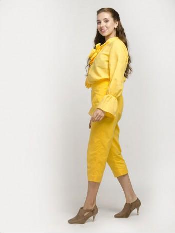 Yellow Sort Trouser