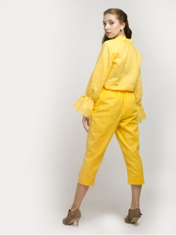 Yellow Sort Trouser