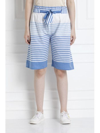 Bermuda Shorts With DrawStrings