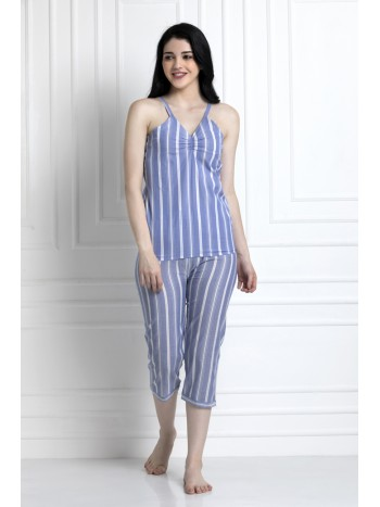 Check Spaghetti Top With Pyjamas. Keep Lounging The Entire Day In These Super Soft Pieces