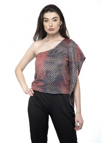 One Shoulder Stylish Party Top
